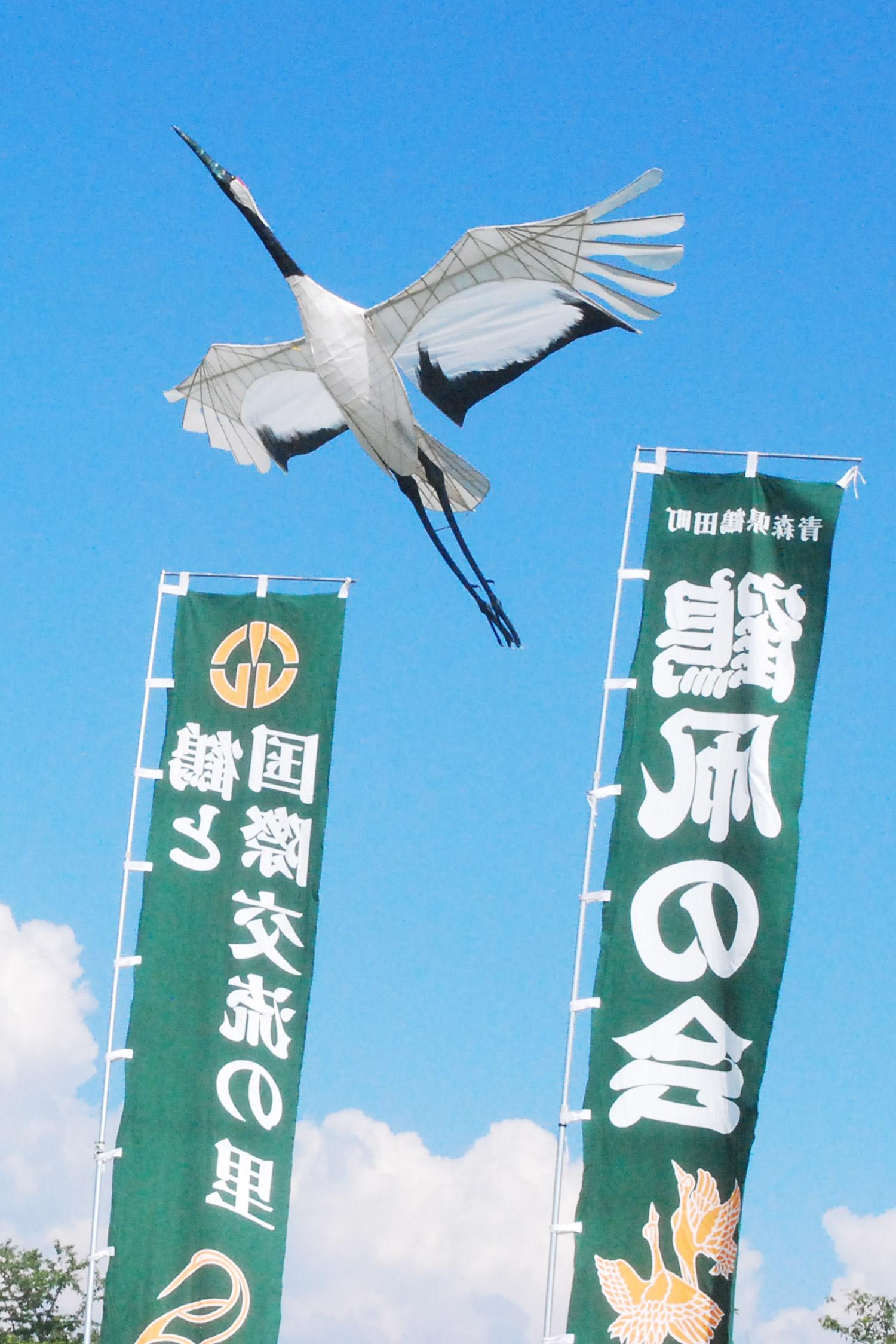 두루미연 날리기