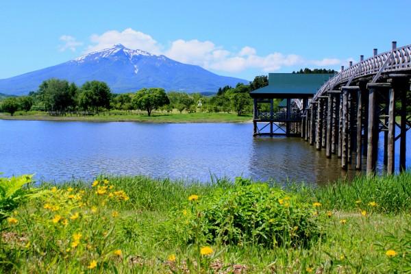 이와키 산과 츠가루 후지미호