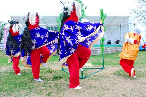 후지미 사자 춤