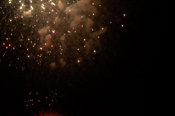 물과 불의 축제  츠루타 축제의 불꽃대회・류진센 호상운행