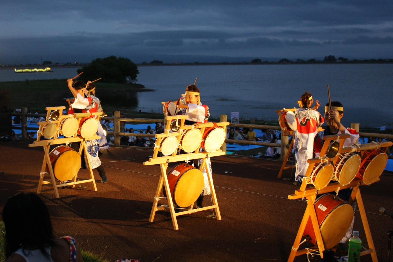 물과 불의 축제 츠루타축제